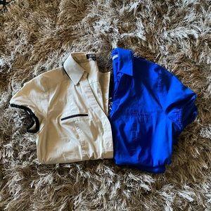 NWOT Express button down shirts